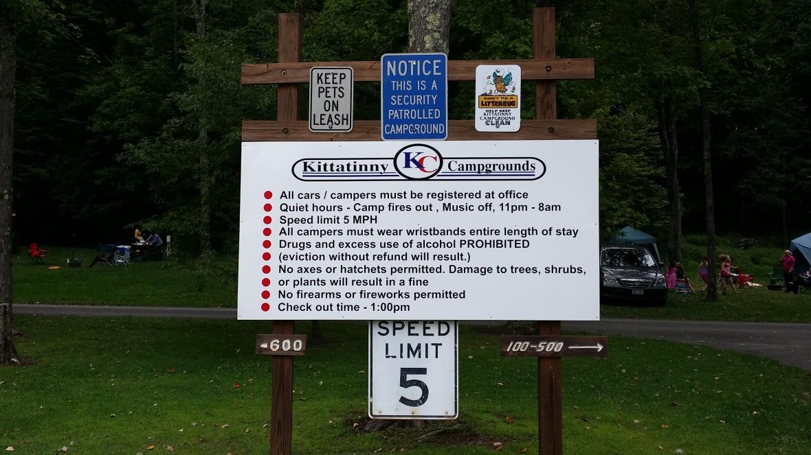 Kittatiny Sign