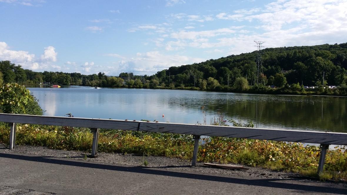 Roadside View of Water