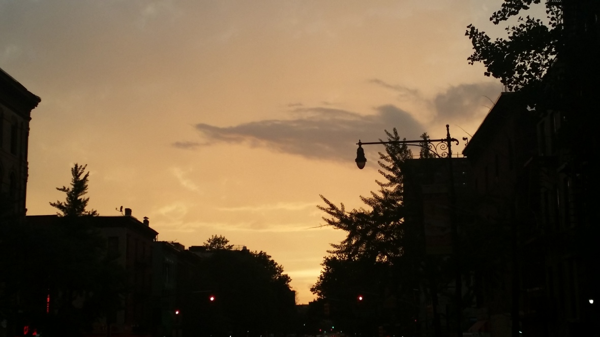 A Harlem Sunset
