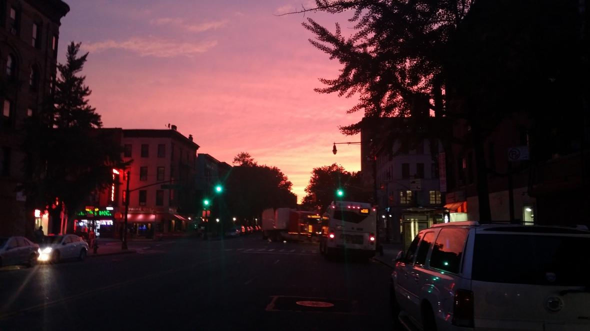 A Harlem Sunset II