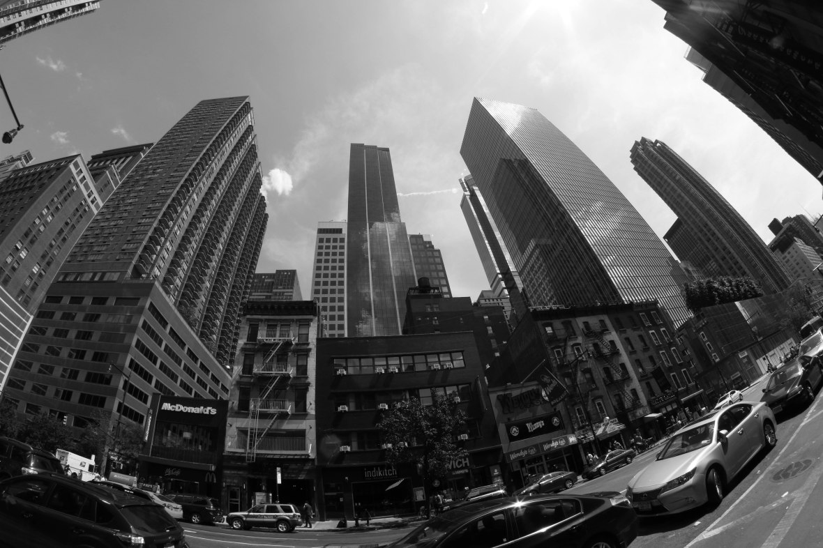 Gotham Black & White