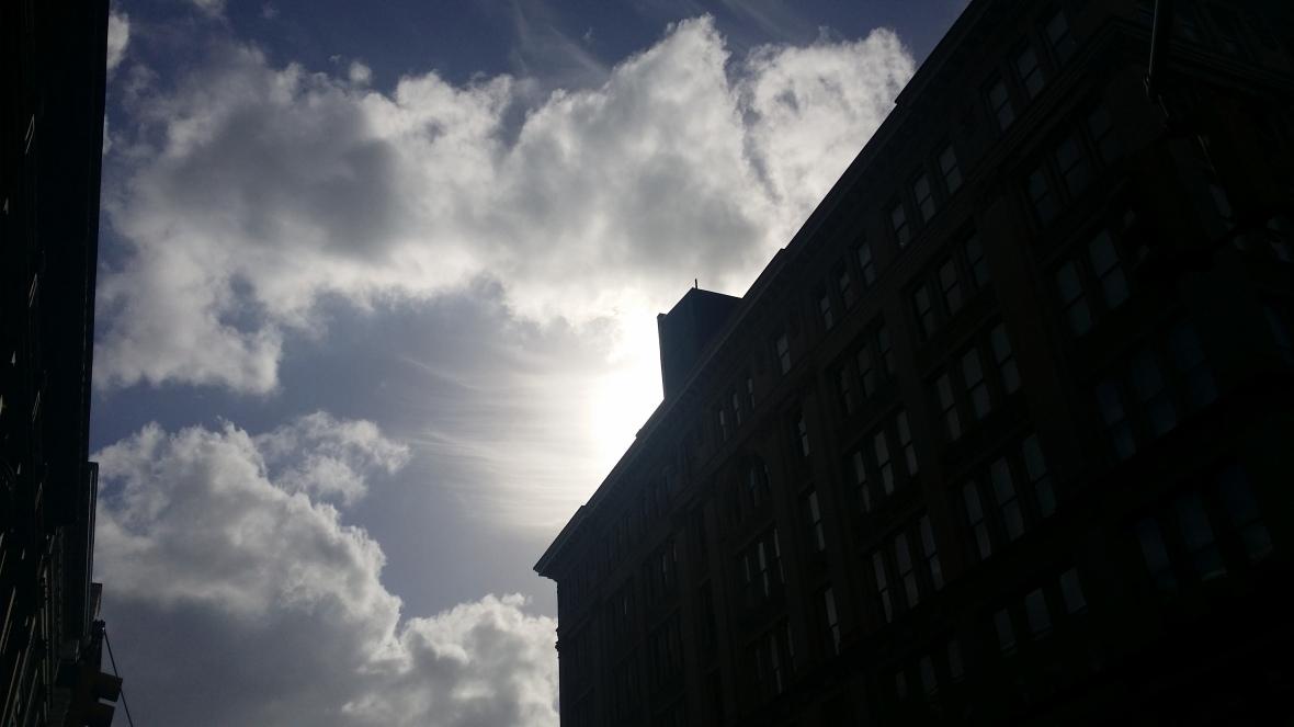 Silhouette & Skies III