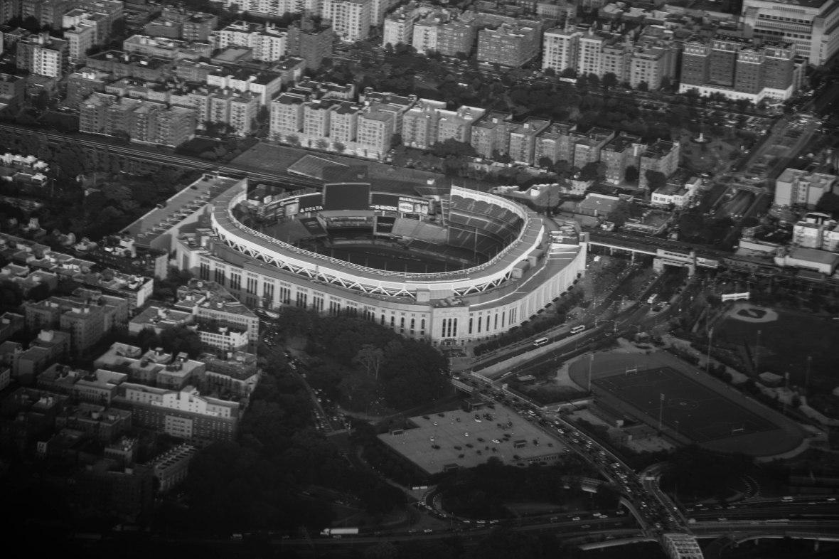 Yankee Stadium Black & White