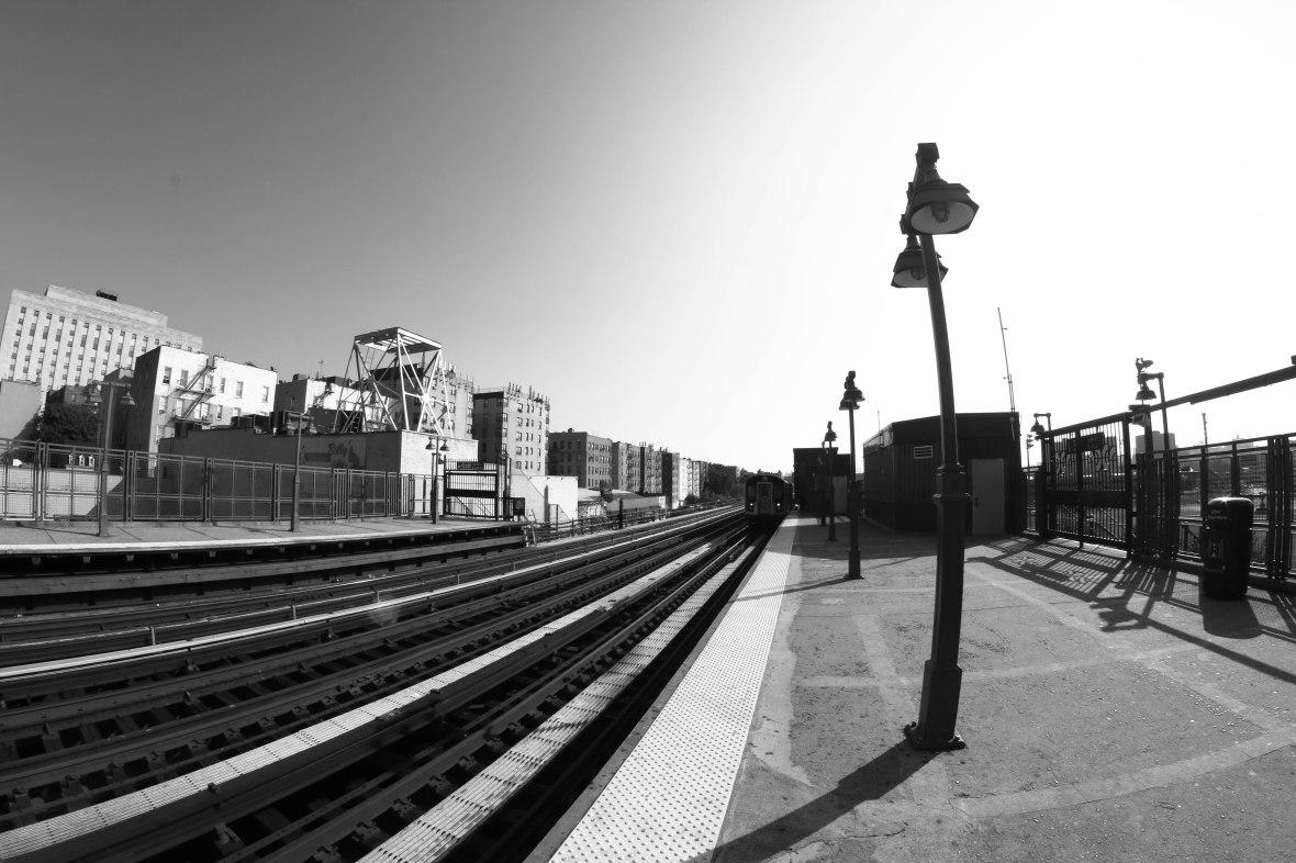 4 Train Above Yankee Stadium