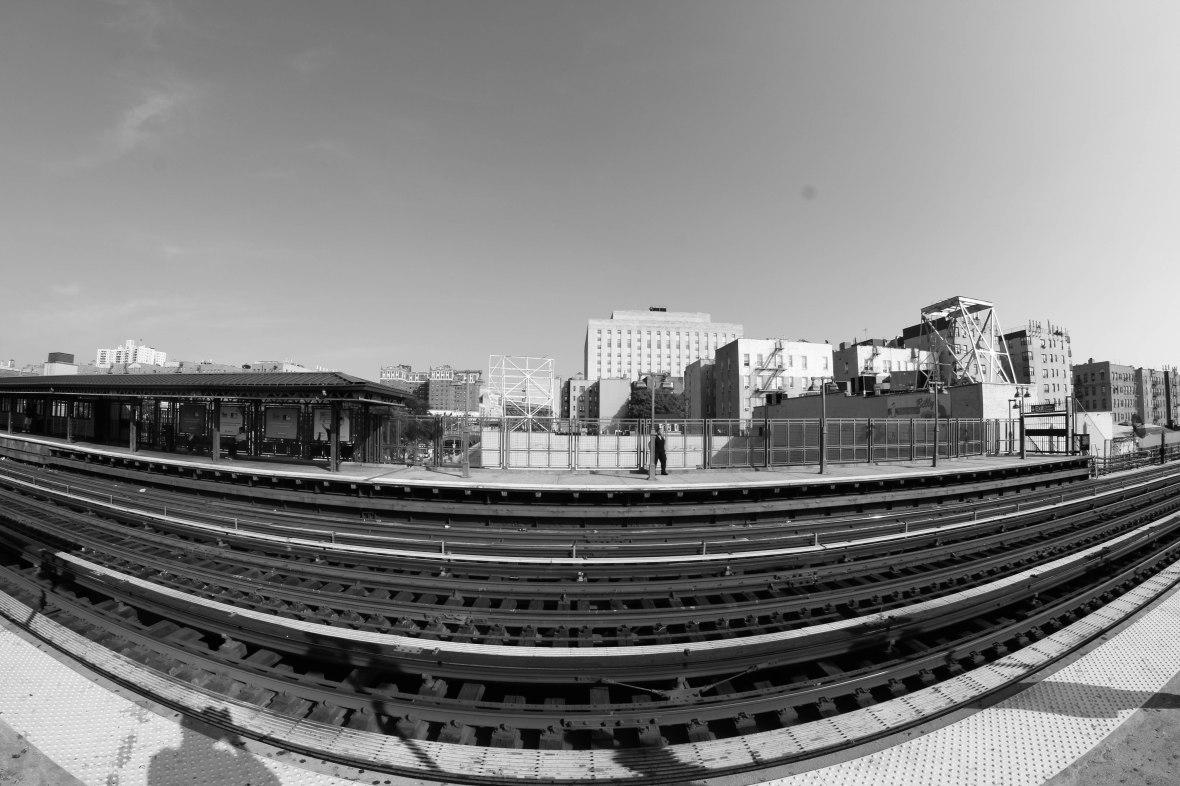 Train Tracks Black & White (4)