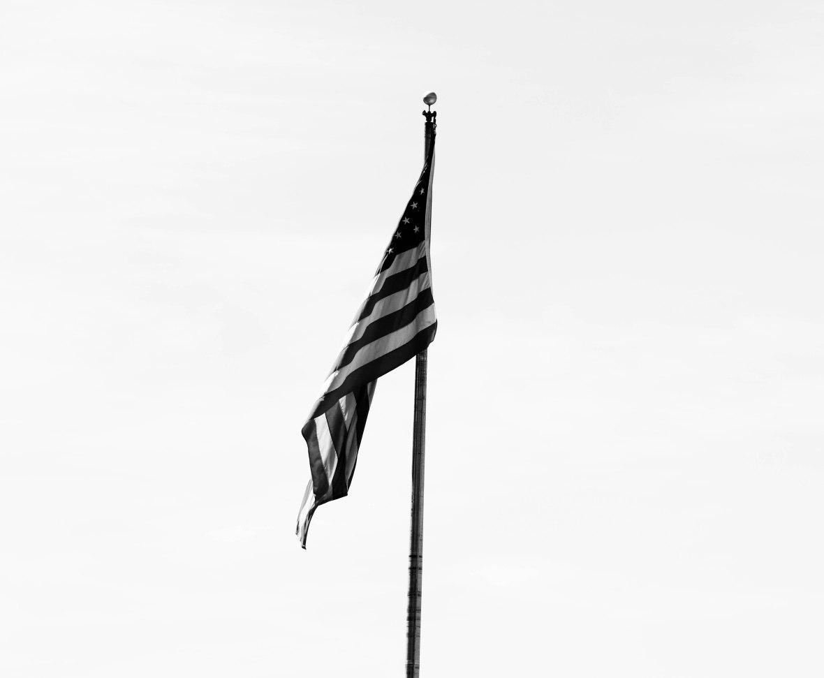 The Flag: Black & White