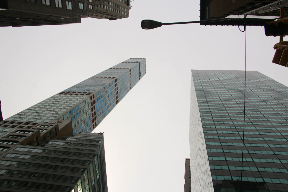 "NYC Landscape ""Looking Up"""