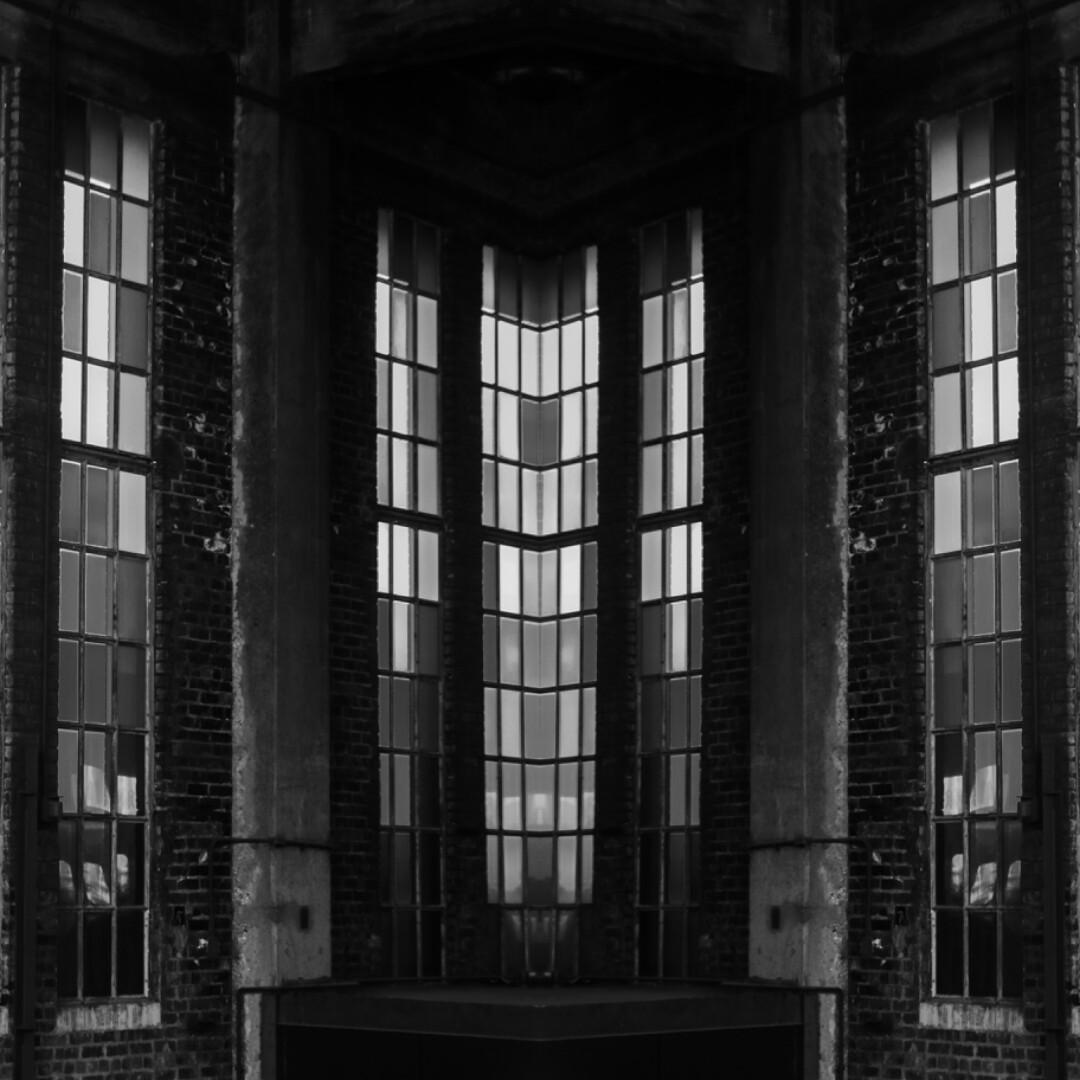 Interior Building Corner Windows