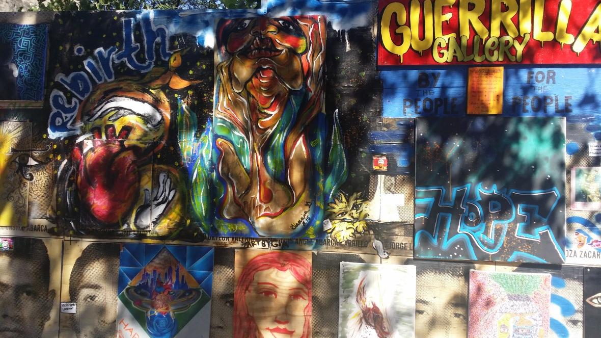 Guerilla Gallery Spanish Harlem