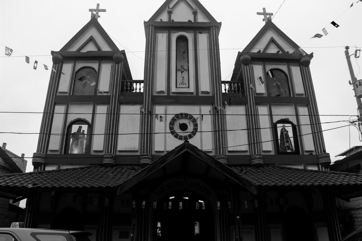 La Iglesia B+W