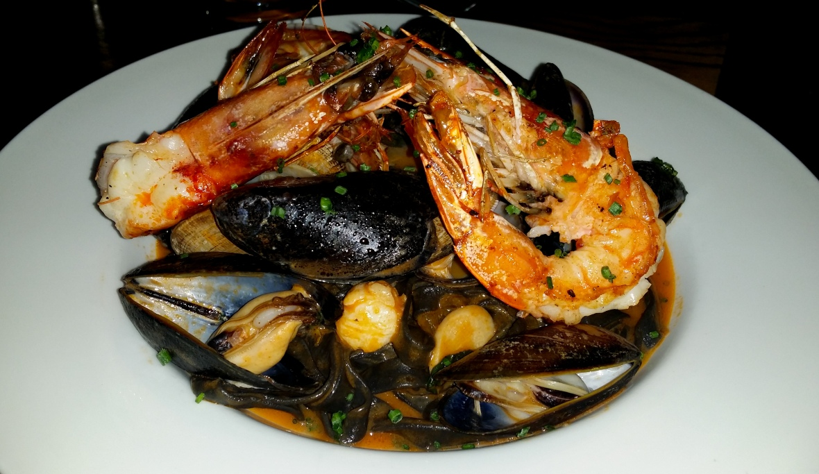 Seafood Medley Plate