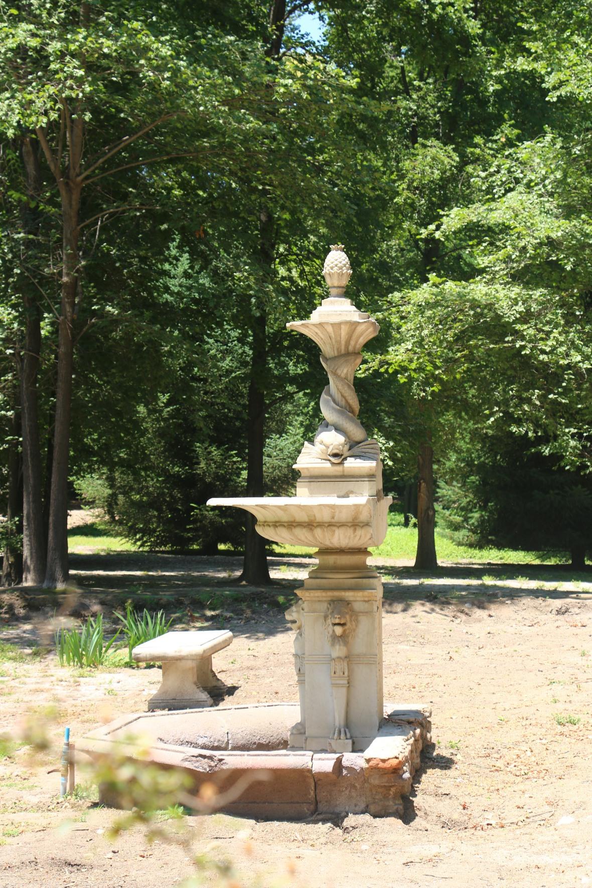 Statue & Gardens Concha Y Toro