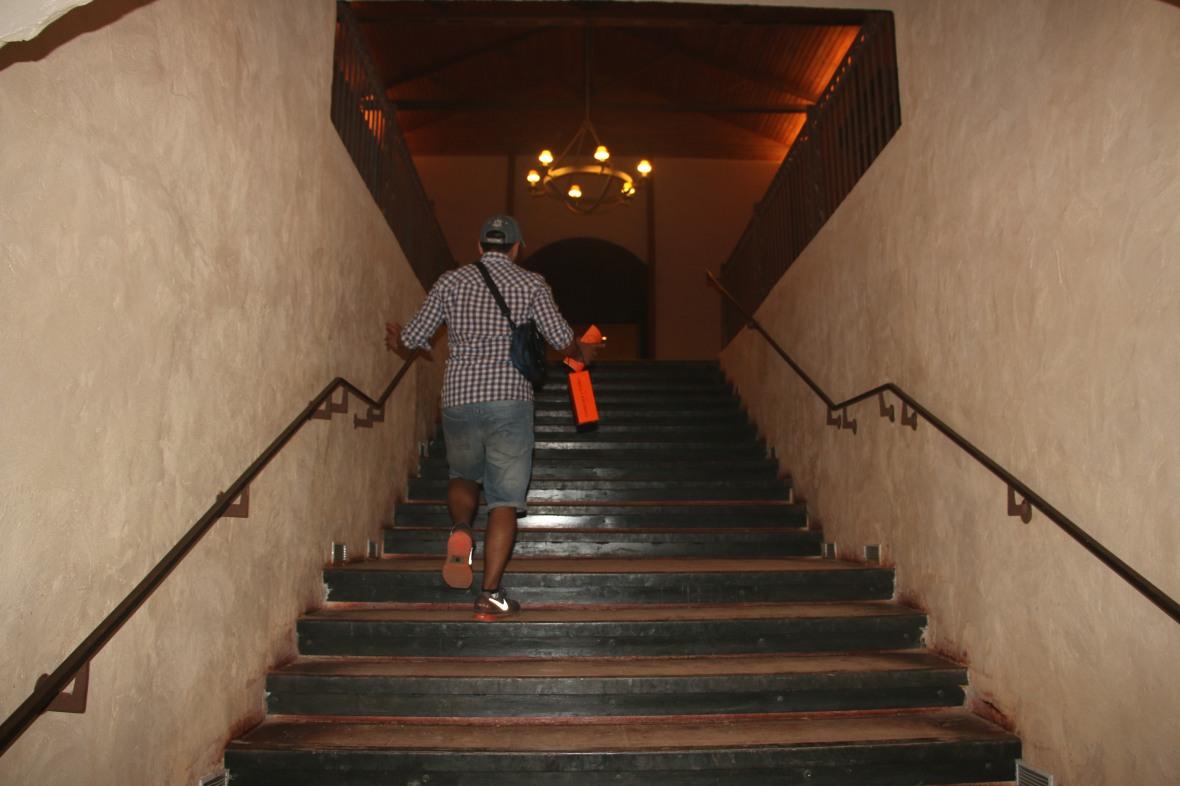Leaving the Casillero