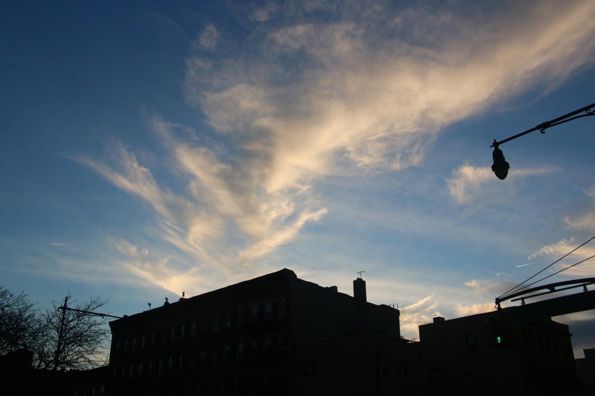 """Landscape Portrait Series: Silhouettes & Skies """"V"""""""
