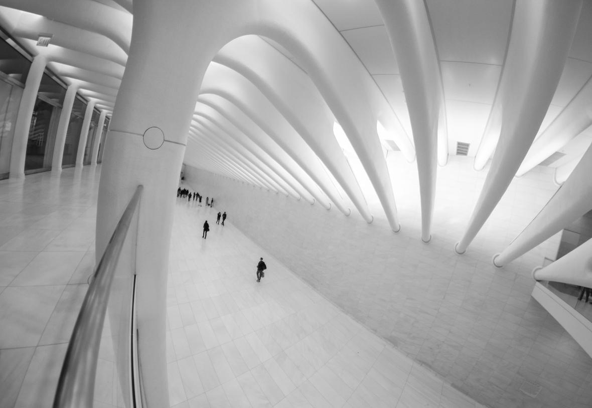 Corridor B + W Upper Level