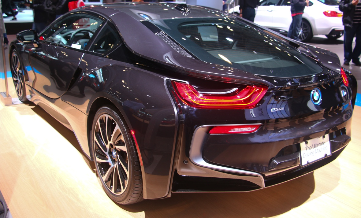BMWi8 Angled Rear Profile