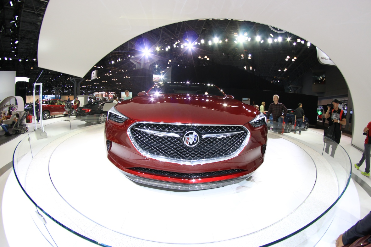 Buick Wide Angle Front