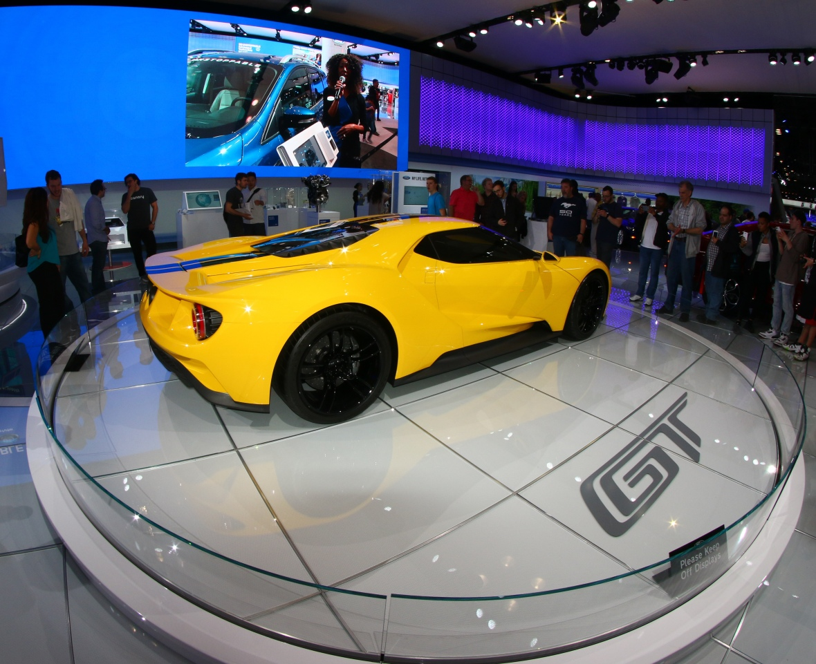 Ford GT Wide Angle Shot