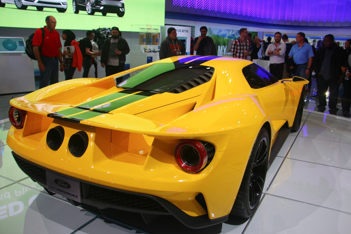 Ford Gt Rear Right Side