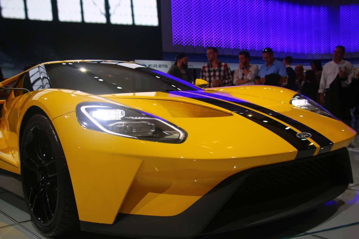 Ford GT Front Side Profile