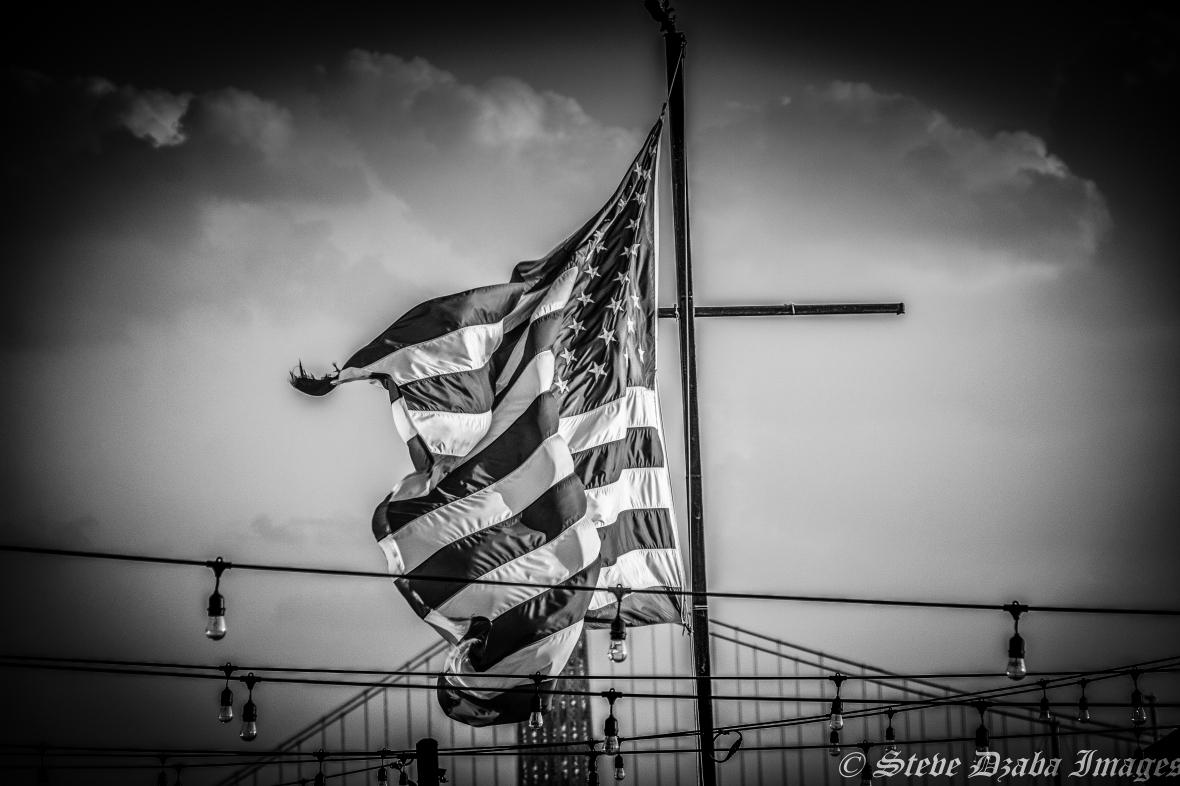 American Flag Vignette Requiem For The American Dream Watermark-3