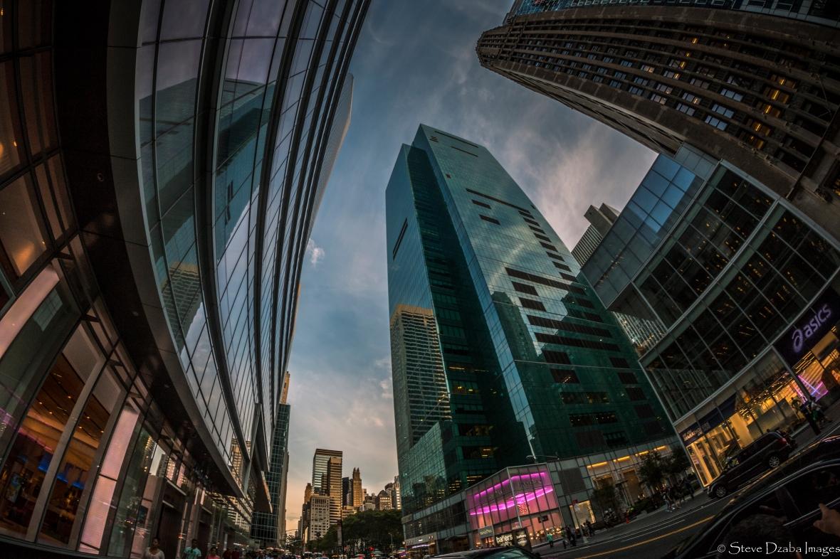 Gotham Landscape Portrait Series: Big Rich Town