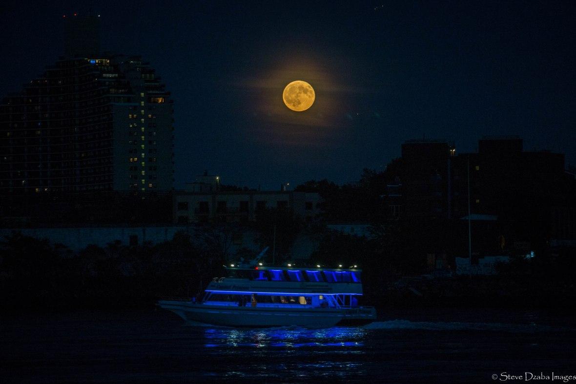 Super Moon Yacht Night