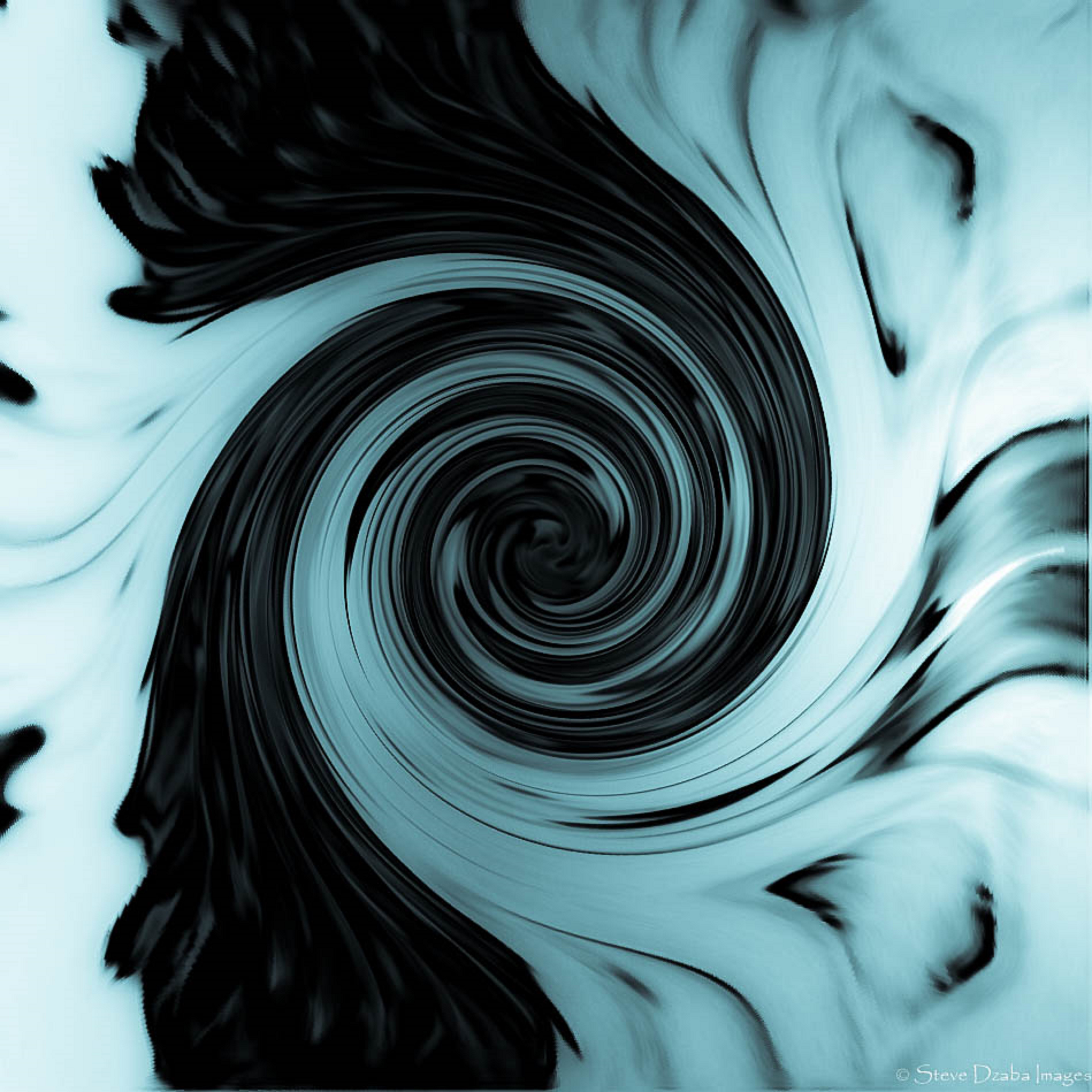 Abstract Portrait Series The F7 Blue Smoke Hypnosis Limited